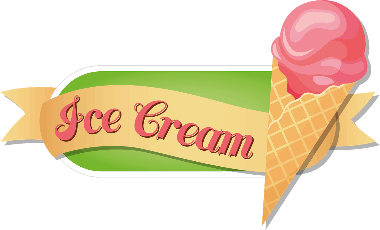 ICE CREAM SIGN